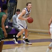 Men's basketball secures two wins over the weekend against Skyhawks, Grizzlies on home court