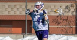 Men's lacrosse picks up first win on the road