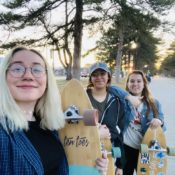 Skateboarding becomes more inclusive as women create community groups, say Westminster skateboarders