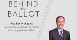 Rep. McAdams seeks to defend his seat; emphasizes importance of bipartisanship