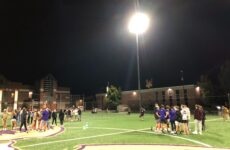 Athletes anticipate more flexible practice, competition schedule with new stadium lights