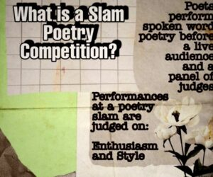 Student poets say pandemic may be opportunity to 'completely change' art form