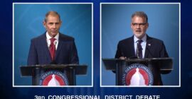 Candidates face off in debate, drawing lines between key issues