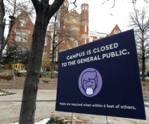Administration urges students to remember masks in public spaces, citing violations in dining areas