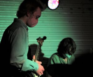 Members of the band Adult Prom perform at Kilby Court Feb. 11.