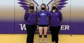 Westminster senior reaches volleyball milestone during final season