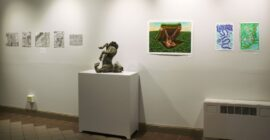 'By students, for students;' Student art gallery in Converse open to all