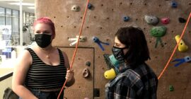 Climbing Wall competitions revised for inclusivity
