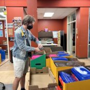 Students assemble kits for Westminster Day of Service